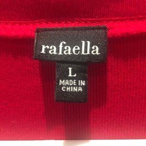 Rafaella Sweaters - Rafaela red cardigan cotton sweater